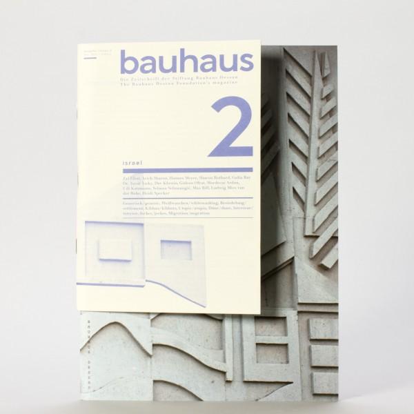 ISRAEL . Bauhaus Zeitschrift Nr. 2