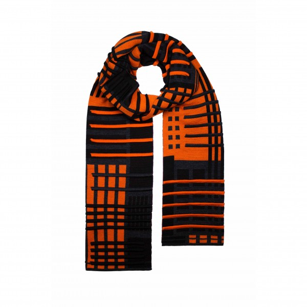 scarf . PARALLEL . VERHAAR . 3D . b/a/o