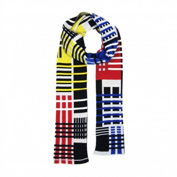 scarf . PARALLEL . VERHAAR . 3D Mondriaan