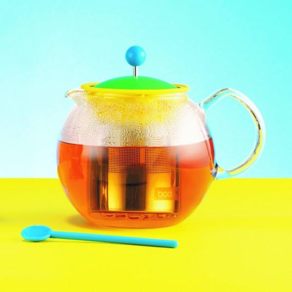 tea maker . ASSAM . BODUM . green