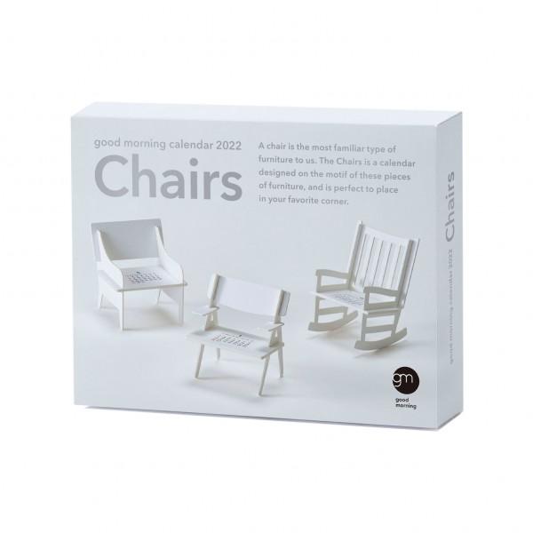 Kalender 22 . GOODMORNING . Chairs