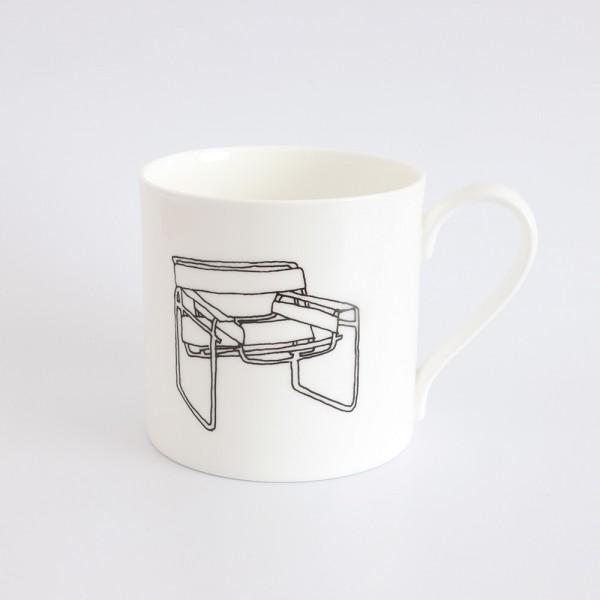 mug . WASSILY CHAIR . MARCEL BREUER