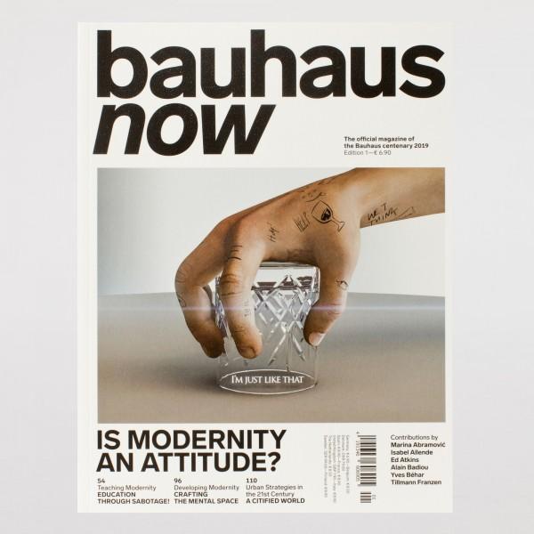 BAUHAUS NOW #1 . englisch