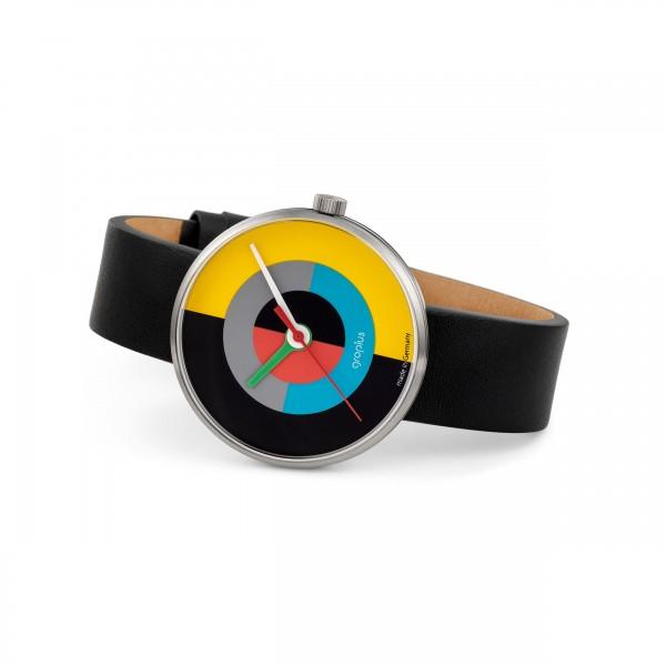 Armbanduhr . WALTER GROPIUS . J. ALBERS . farbig