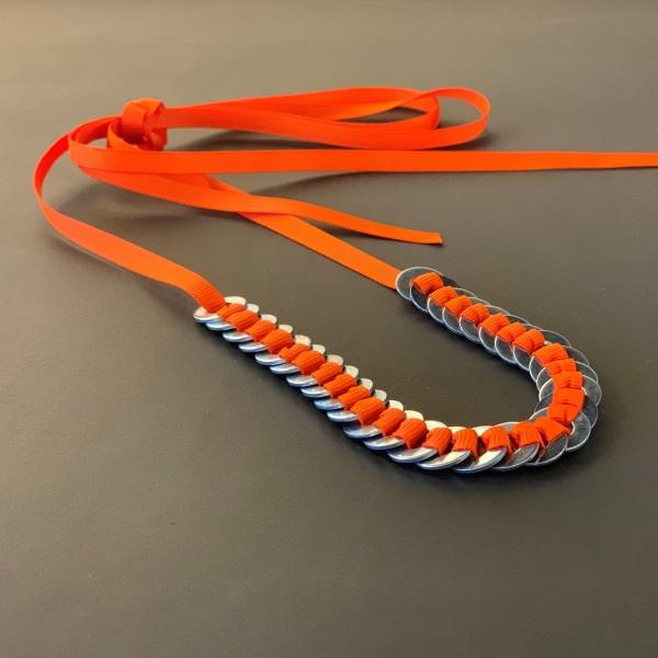 diy kit . ANNI ALBERS . ribbon . orange