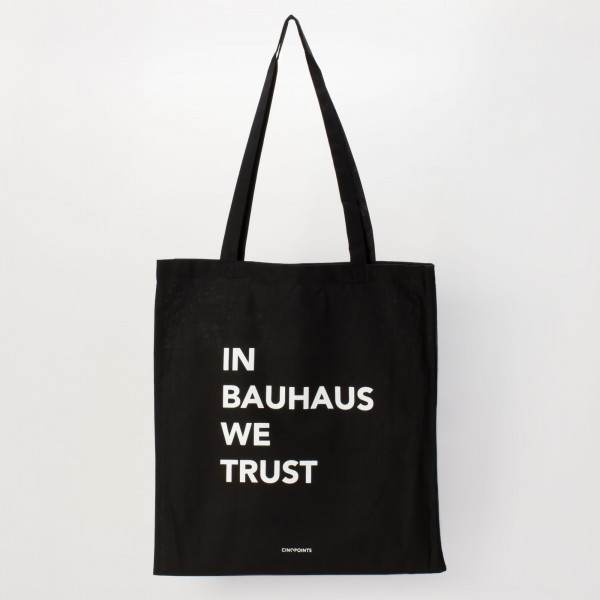 Stoffbeutel . IN BAUHAUS WE TRUST . CINQPOINTS