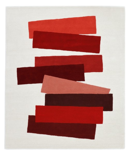 Teppich . JOSEF Albers . THE MANY FACES OF RED