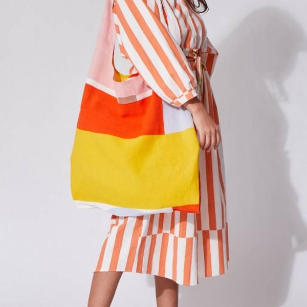 Strandtasche . VISION . orange