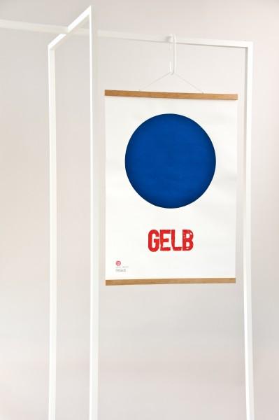 print . GELBBLAUROT . Jakob Wolf ''YELLOW''