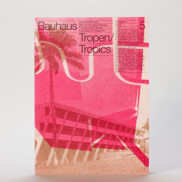 TROPEN . Bauhaus Zeitschrift Nr. 5