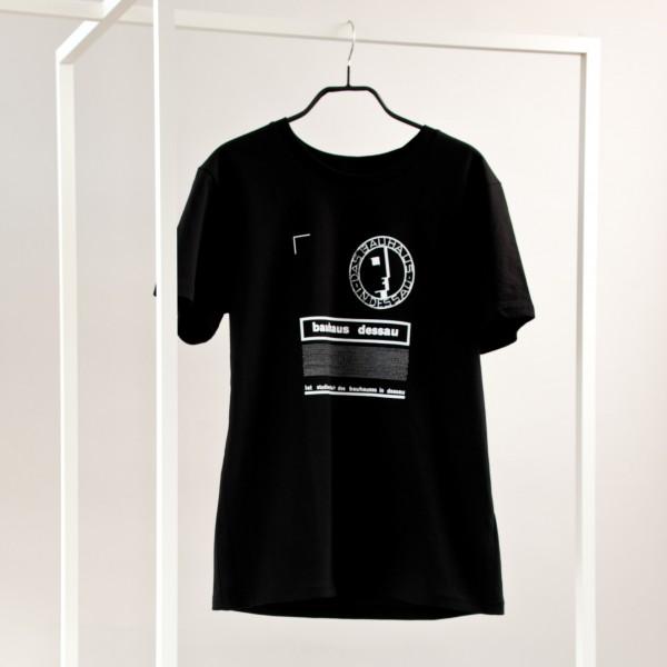 T-Shirt . BAUHAUS STUDENT . schwarz