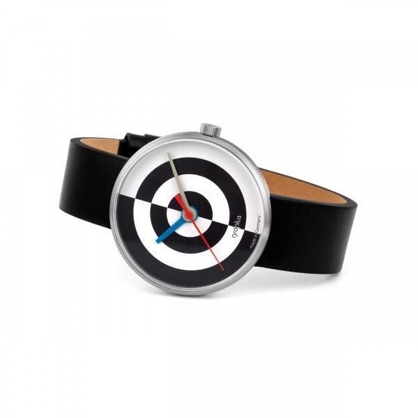 wrist watch . WALTER GROPIUS . J. ALBERS . b/w