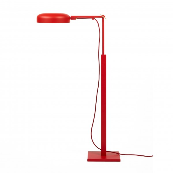 floor lamp . SCHLIEPHACKE EDITION . MAWA . red