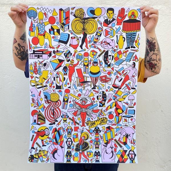 print . BAUHAUS BIG FLASH . PRUDEN TT . A2