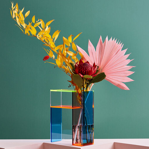 Vase MONDRI neon