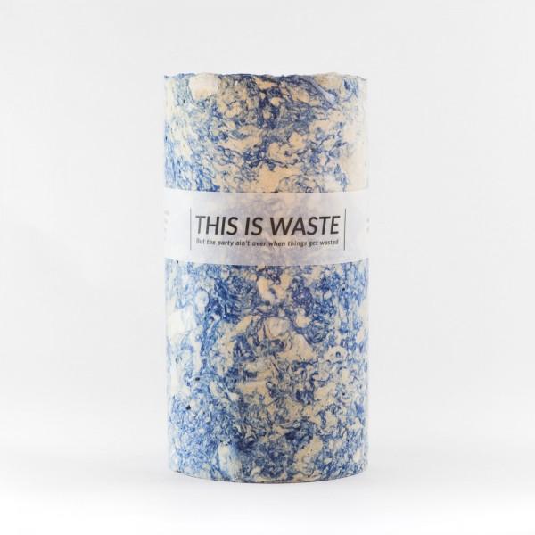 LARGE BLUE . STUDIO FLASH . Vase
