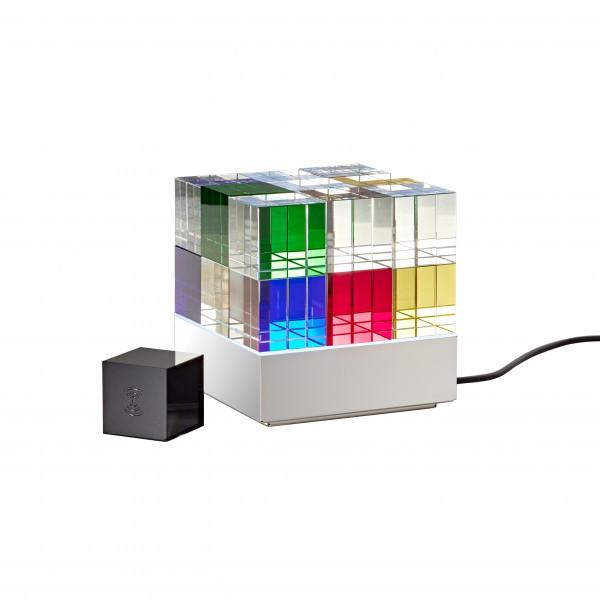 Table light . TECNOLUMEN . Cubelight